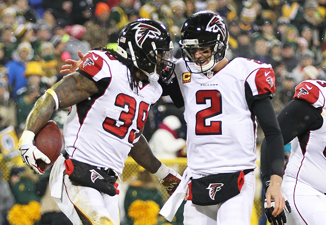 Matt Ryan had a strong season and was always quick to praise SJ39 and the ground game.