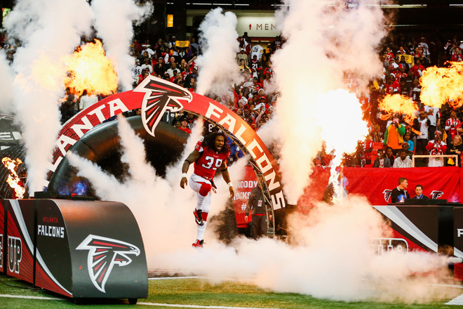 The best is yet to come and I can't wait to get back on the field for the Falcons (Getty Images).