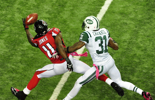 Julio Jones is an incredible talent and his return will instantly make our team better in 2014 (Getty Images).