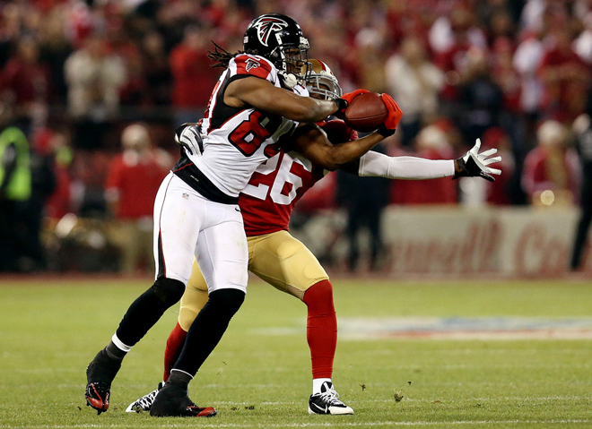 Roddy White proved a lot of doubters wrong with the way he played in the final month of the season (Getty Images).