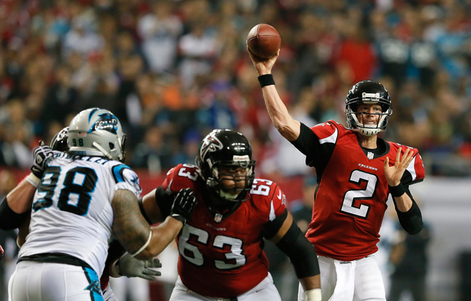 Matt Ryan is a tremendous leader and I look forward to playing with him as he enters the prime of his career (Getty Images).