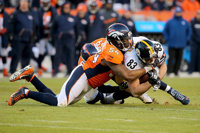 The Broncos finished the regular season No. 1 in the NFL in total defense and 3rd against the run.