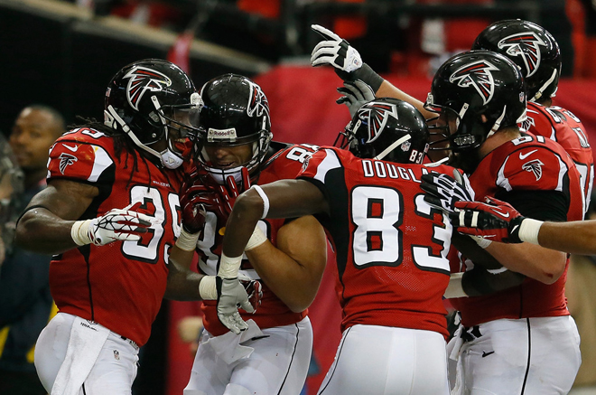 The 2013 season didn't go as planned in Atlanta, but the Falcons are getting ready to bounce back in 2014 (Getty Images).
