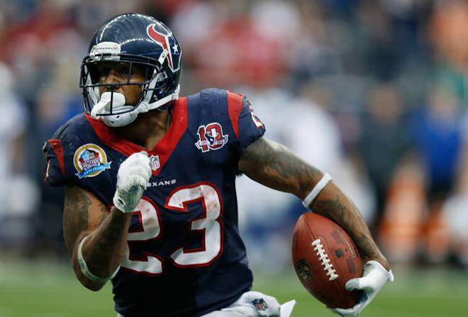 Running backs like Arian Foster showed their support for Save The Running Back with tweets and retweets.