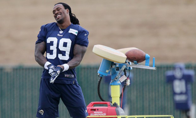 The first few days of Rams camp had Steven feeling good about the direction of the franchise (Post-Dispatch Image).