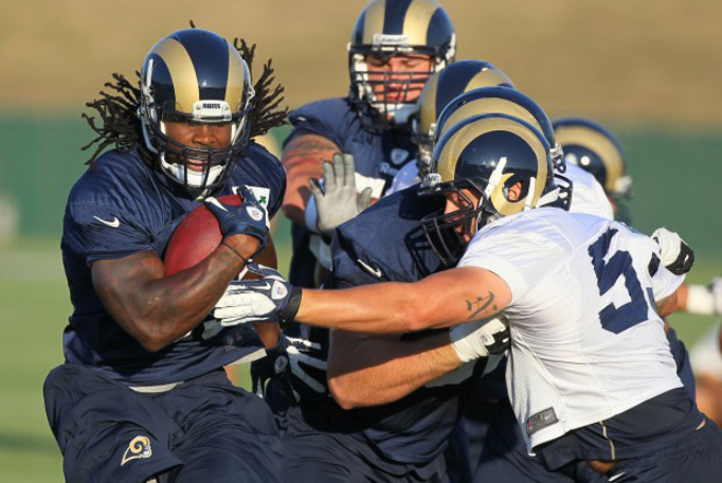 In his ninth season, Steven is expected to lead the Rams in more ways than one (St. Louis Post-Dispatch photo).