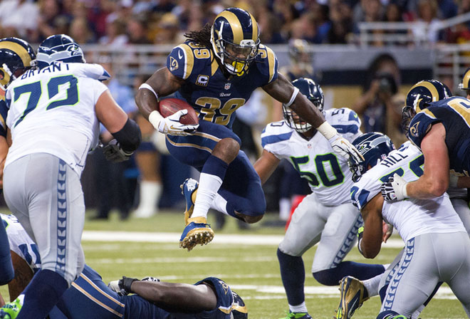 The Rams have encountered plenty of hurdles this season, but they're finding ways to win (Getty Images).