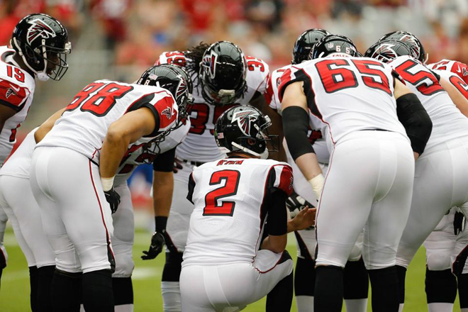 The Falcons must have more balance on offense if they plan to strong together victories (Atlanta Falcons photo).