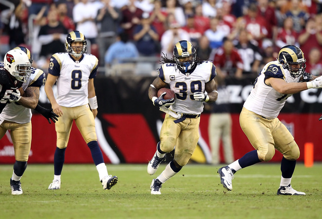 There's plenty of season left for the Rams and much left for Steven to fight for (Getty Images).