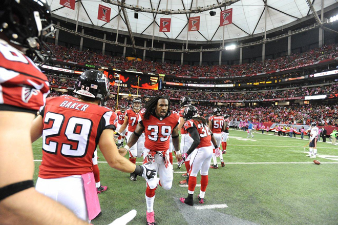 The 2014 season featured many highs and lows for myself and my Falcons teammates (Getty Images).