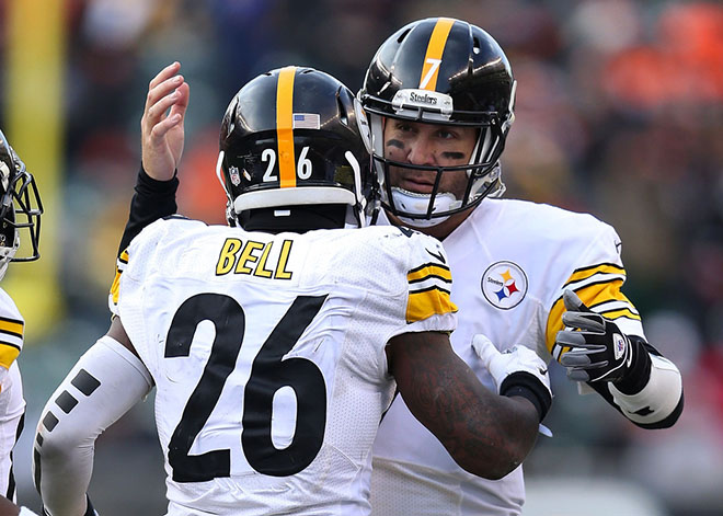 The Falcons defense will be challenged greatly by the backfield duo of Ben Roethlisberger and Le'Veon Bell.