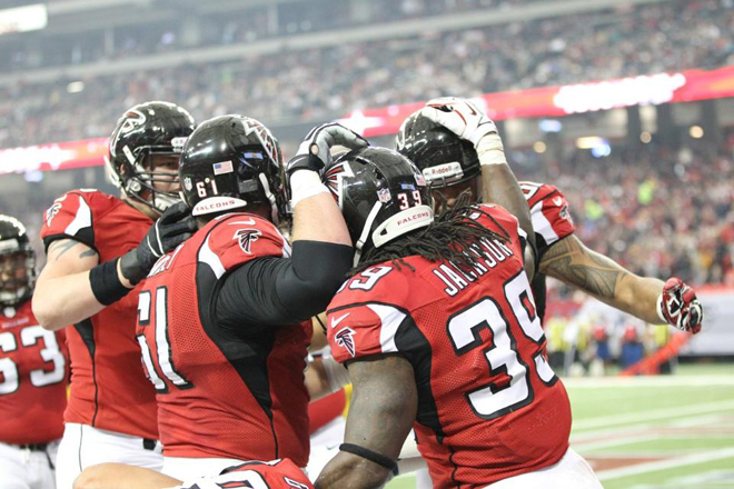 We have an opportunity to make a statement about ourselves and our offense these next two weeks (Falcons.com photo).
