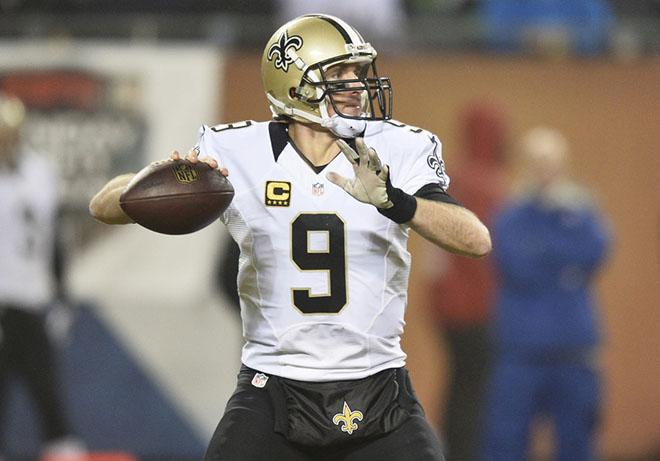 Drew Brees will present yet another tough challenge to the Atlanta secondary.