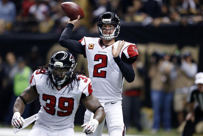 After a quick score by the Saints, the Falcons responded with a scoring drive of their own (Atlanta Falcons photo)