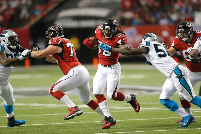 Steven finished the 2013 season strong and will be looking to pick up where he left off come September (Falcons photo).
