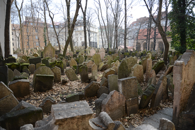 A jewish cemetery that has been there since the 13 century.