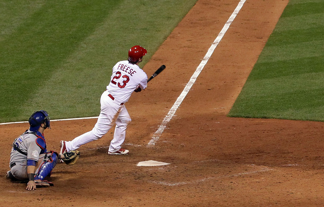 Thanks to two big hits by St. Louis native David Freese in Game 6, the Cardinals can win a championship (Getty Images).