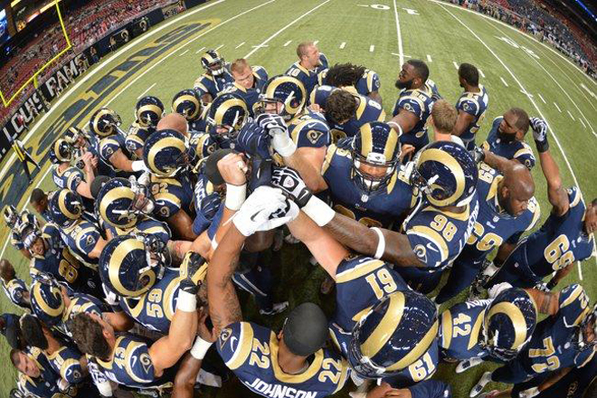 This group of guys is young, hungry, talented and wants to change the perception of the Rams (St. Louis Rams Photo).