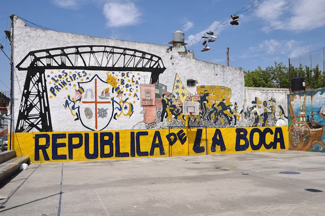 In my travels to Buenos Aires I had a chance to visit a famous neighborhood by the name La Boca