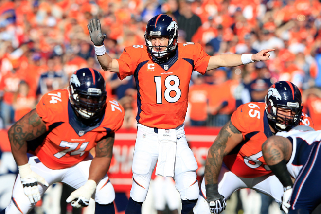Since returning from his next injury, I think Peyton Manning is having a lot more fun playing the game and it's driving his success (Getty Images).