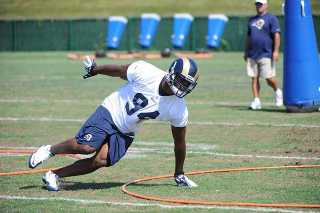 SJ says defensive end Robert Quinn is one Ram to watch this year (St. Louis Rams Photo).