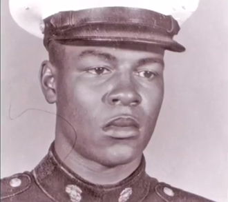 My dad in the Marine Corps.