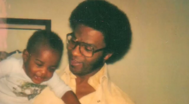 My father and I when I was a baby.