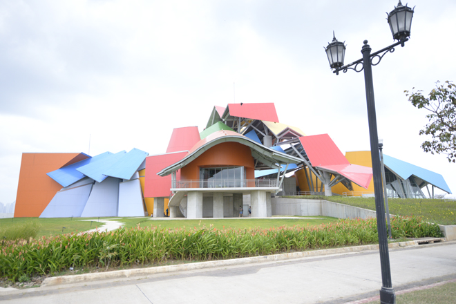 One of my favorite architects, Frank Gehry, designed this building, Panama's Biomuseo.