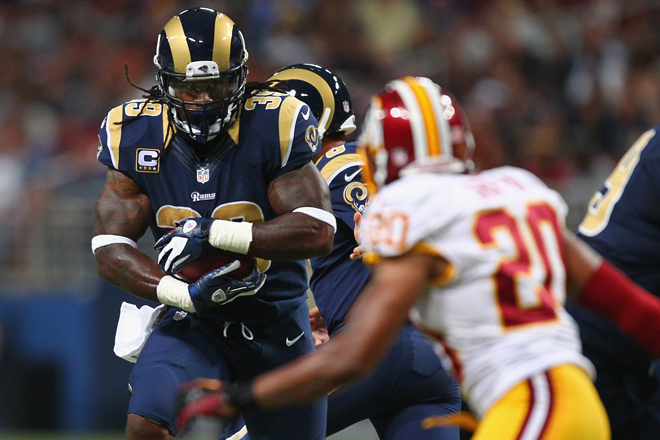 Steven admits it's difficult to picture himself in anything but a Rams uniform (Getty Images).