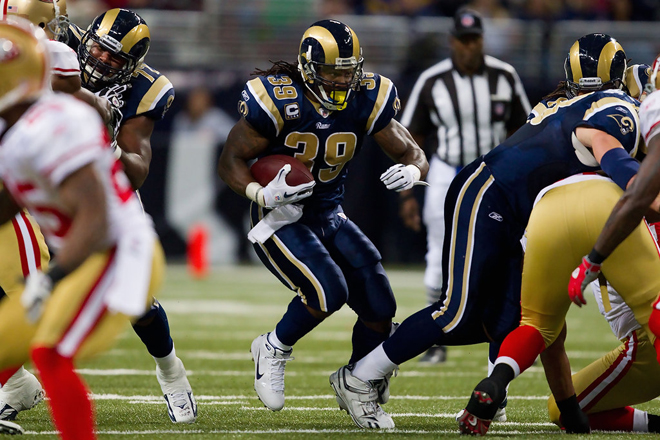 Steven is nearing a few Rams milestones as the second half begins (Getty Images).
