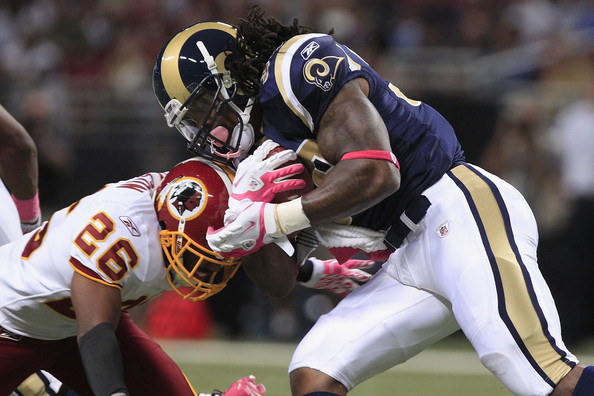 Steven and the Rams will be looking to avenge a loss to the Skins in 2011 (Getty Images).