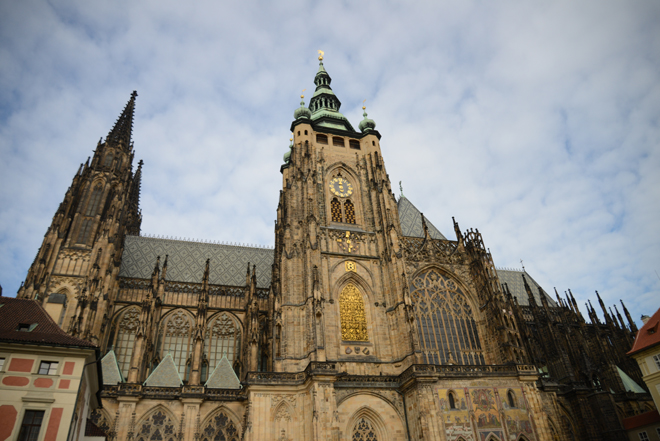 St. Vitus Cathedral in Prague.