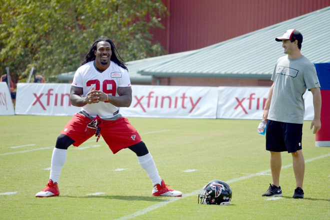 Taking my time with this injury was the right decision and I feel ready for the season (Atlanta Falcons photo).