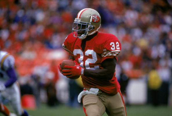 Ricky Watters was one of my favorite running backs to watch growing up.