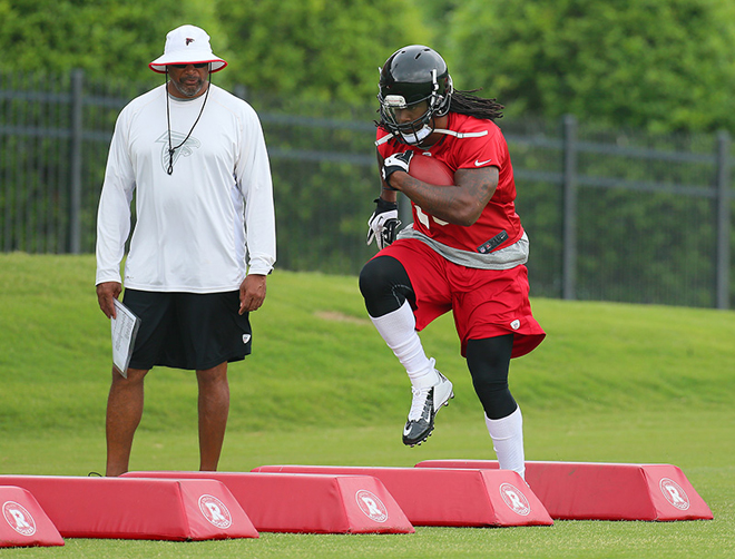 As he begins his first camp with the Atlanta Falcons, SJ39 had a lot on his mind.